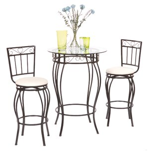 Davidson 3 Piece Pub Table Set