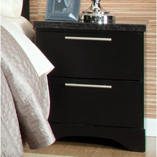 Standard Furniture Atlanta 2 Drawer Nightstand & Reviews