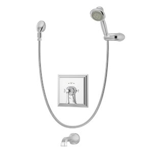 Canterbury Tub/Shower Trim with Lever Handle