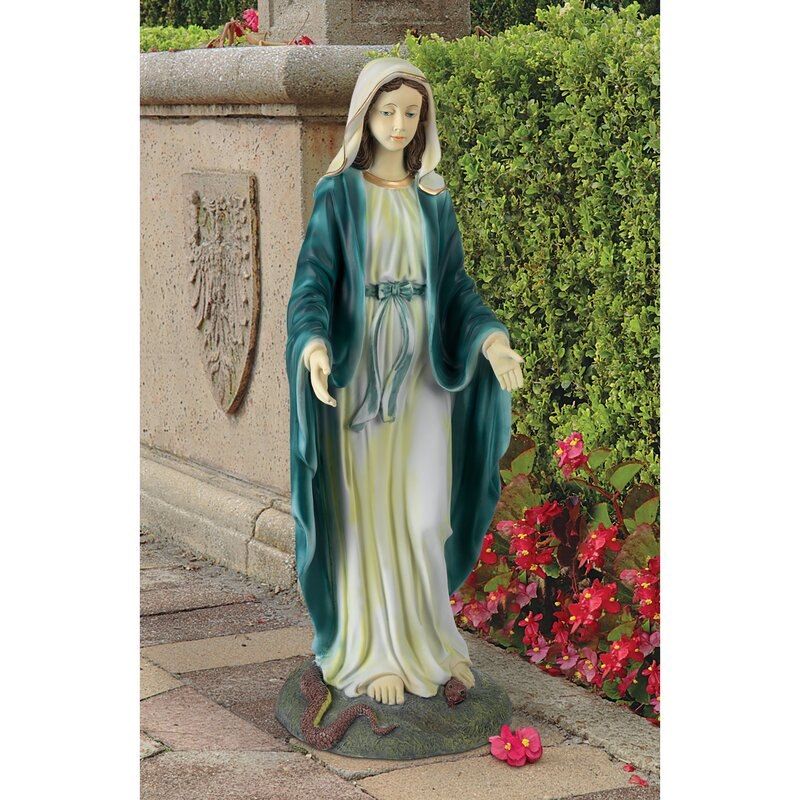 Attrayant Virgin Mary, The Blessed Mother Of The Immaculate Conception Garden Statue