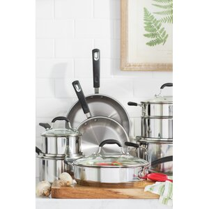 Prime 13-Piece Stainless Steel Cookware Set
