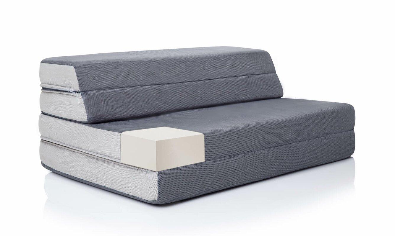 Lucid Folding 4 Firm Memory Foam Mattress Amp Reviews Wayfair