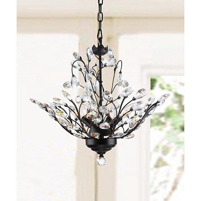 small chandelier for bedroom. Wallenstein Leaves 4 Light LED Mini Chandelier or Small Chandeliers You ll Love