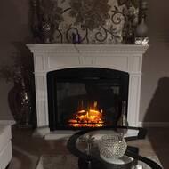 Napoleon Alanis Electric Fireplace Wayfair