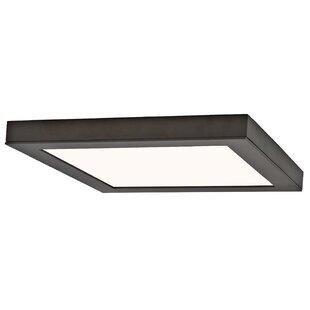 rectangular flush mount ceiling light contemporary braeden led flush mount squarerectangle mounts semi youll love wayfair