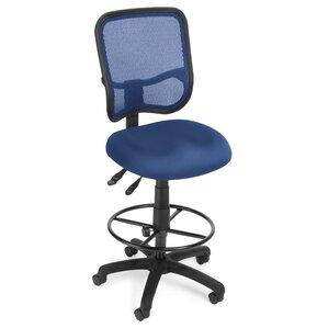 Ergonomic Mid Back Mesh Drafting Chair