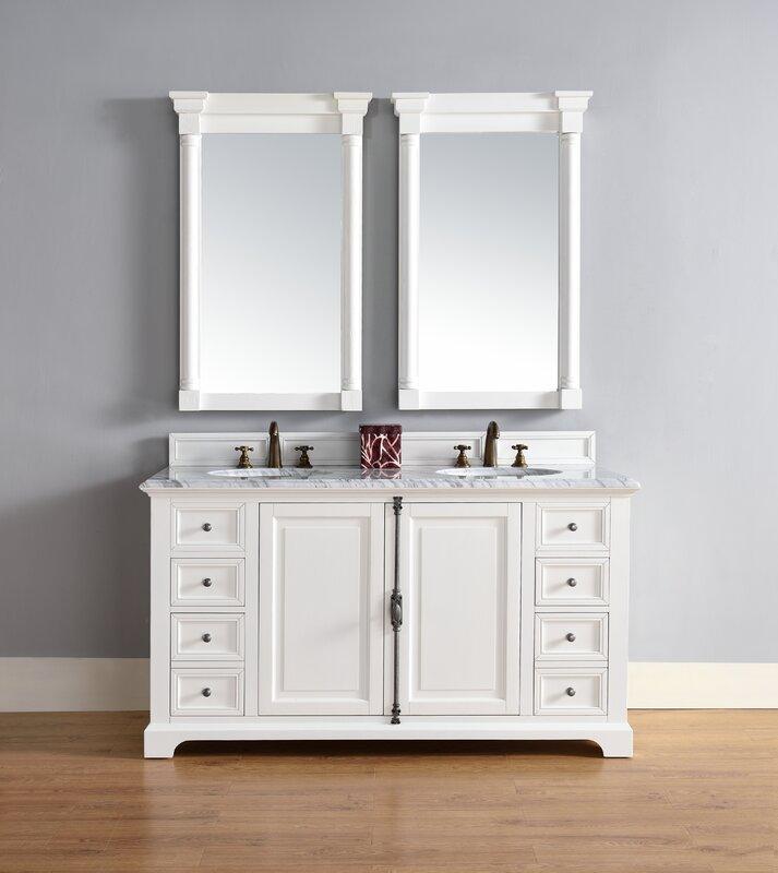 "Bathroom Vanity Base james martin furniture providence 60"" double bathroom vanity base"