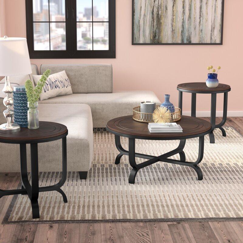 Next Coffee Table Set: Latitude Run Wathen 3 Piece Coffee Table Set & Reviews