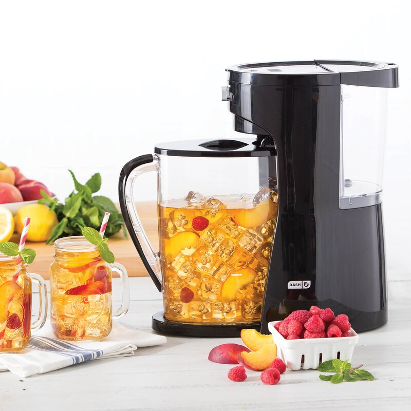DASH  10-Cup Iced Coffee Maker  Color: Black