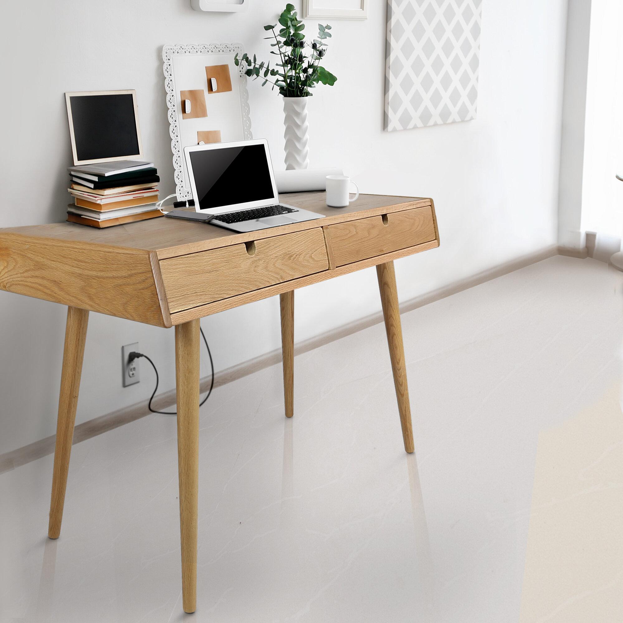 Oak Writing Desks You Ll Love Wayfair Ca