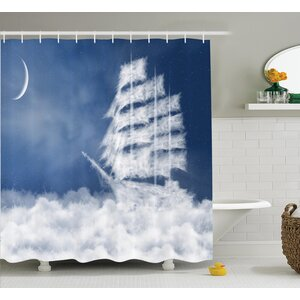 Nautical Decor Shower Curtain