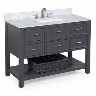 save to idea board kitchen bath collection hampshire 48 single sink bathroom vanity set - Bathroom Cabinets Sink