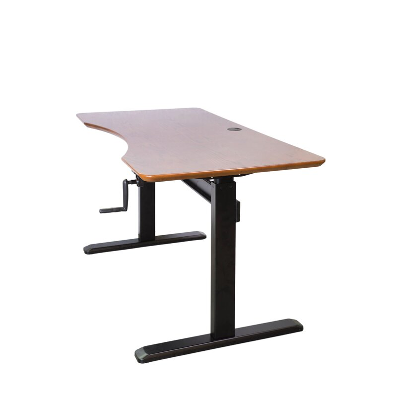 Gentil Kayley Crank Adjustable Height Standing Desk