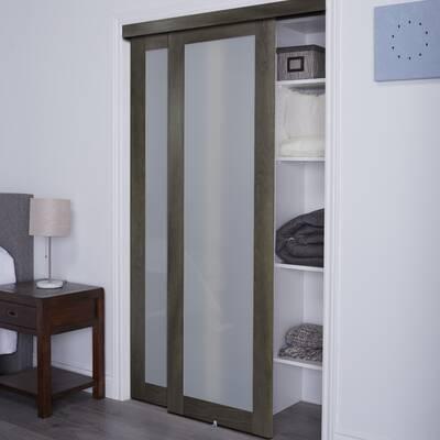 Erias Home Designs Track Mdf Sliding Closet Door Reviews Wayfair