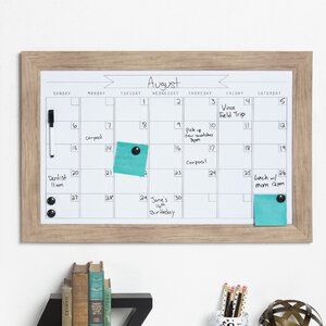Beatrice Magnetic Wall Mounted Calendar Board