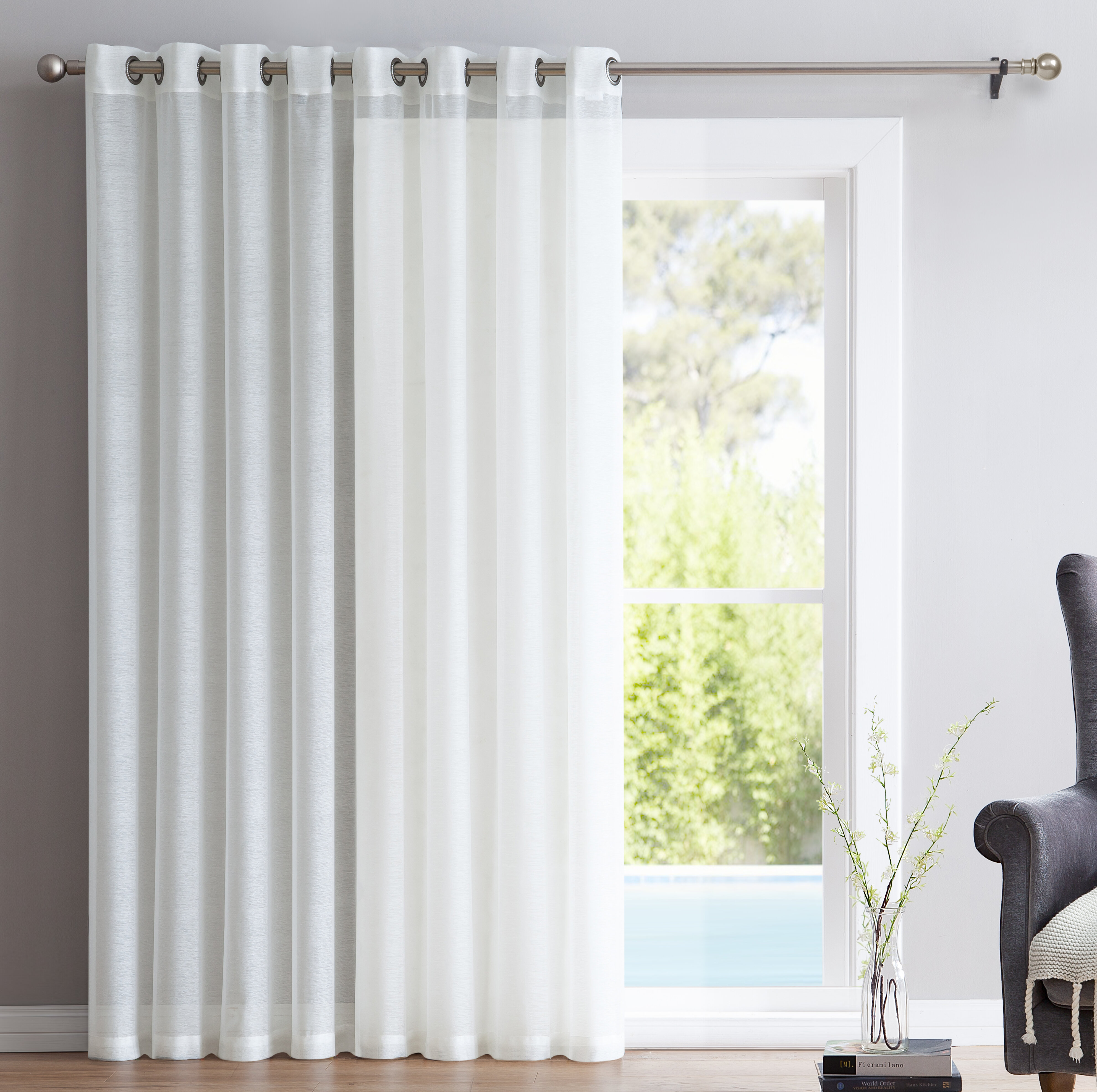 thermal curtain grommet room syl sylvia vcny window cropped panel blackout medallion set darkening ppr curtains sx grey
