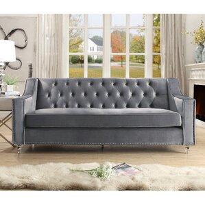 marlowe tufted sofa - Grey Tufted Sofa
