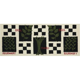 Hessie Hand-Tufted Black/White Novelty Rug By August Grove