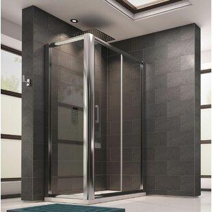 Chancey Rectangular Sliding Shower Enclosure by Belfry Bathroom