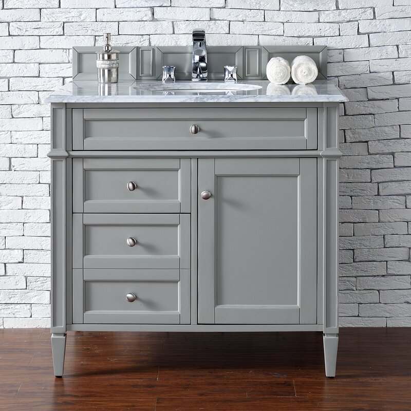 James Martin Furniture Brittany 36 Single Bathroom Vanity Set Reviews Wayfair