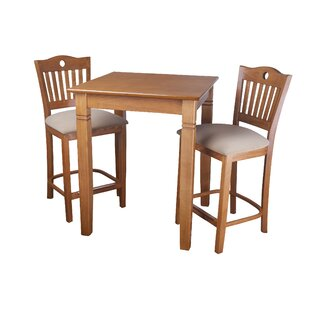 Eakes 3 Piece Pub Table Set