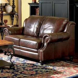 Harvard Leather Loveseat by Wildon Home ?