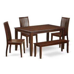 Araminta 6 Piece Solid Wood Dining Set
