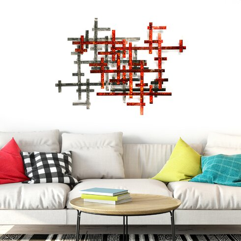 Aesthetic Metal Wall Decor