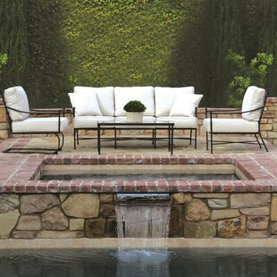 Provence Deep Sunbrella Seating Group With Cushions. By Sunset West