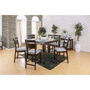 Farrington Gurney 7 Piece Counter Height Dining Set by Brayden Studio