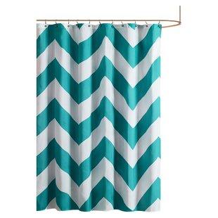 Teal Shower Curtain   Wayfair