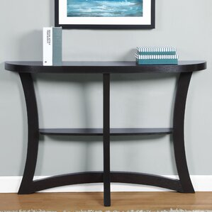 Small Demilune Hall Table