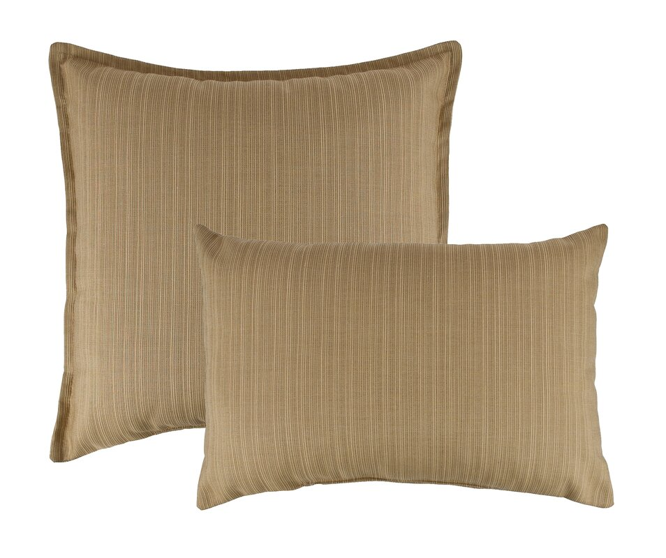 Bamboo Traditions Pillow Reviews : Austin Horn Classics 2 Piece Dupione Bamboo Combo Outdoor Pillow Set & Reviews Perigold