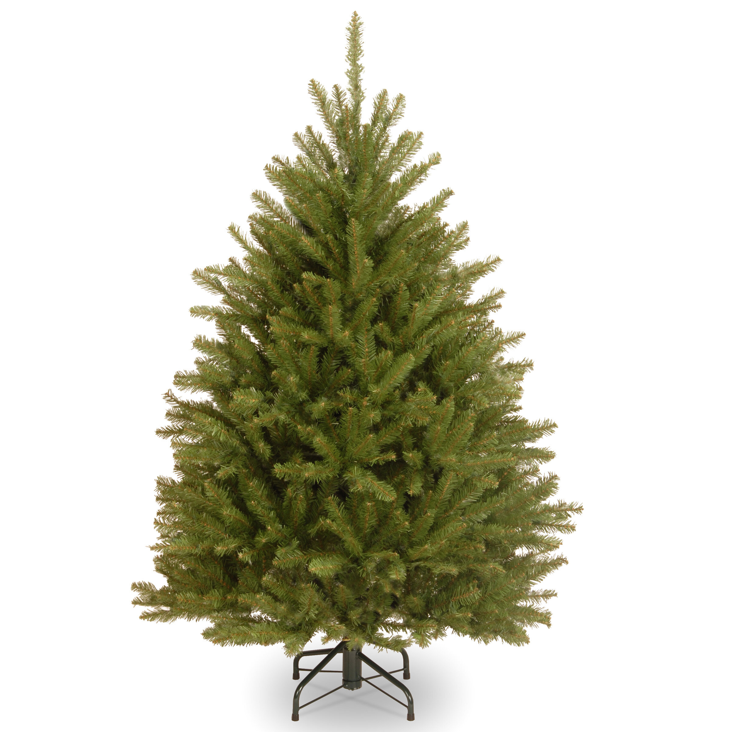 3433cdec2b3 Fir 4.5  Hinged Green Artificial Christmas Tree and Stand   Reviews ...