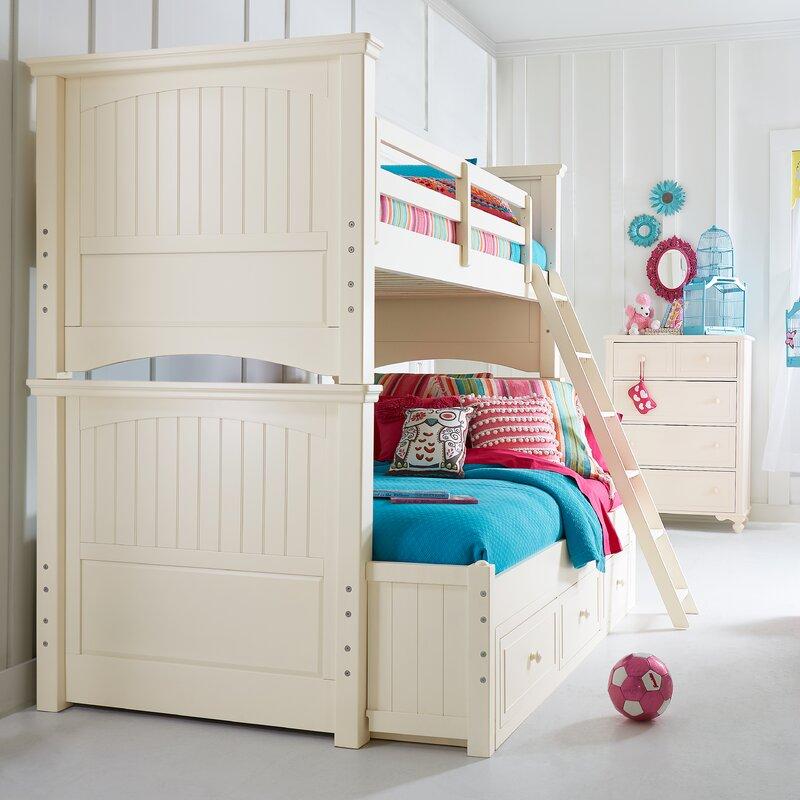 Viv Rae Otto Twin Over Full Storage Bunk Bed