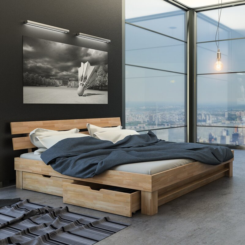 sam stil art m bel gmbh massivholzbett megan mit stauraum bewertungen. Black Bedroom Furniture Sets. Home Design Ideas