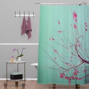 Happee Monkee Red Stars Shower Curtain
