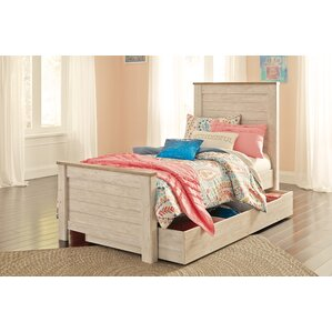 Algere Storage Panel Bed by Gracie Oaks
