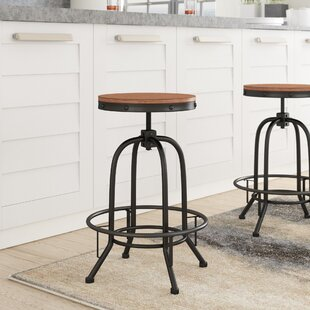 Empire Adjule Height Swivel Bar Stool Set Of 2