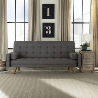 Gumbs Tufted Back Convertible Sofa