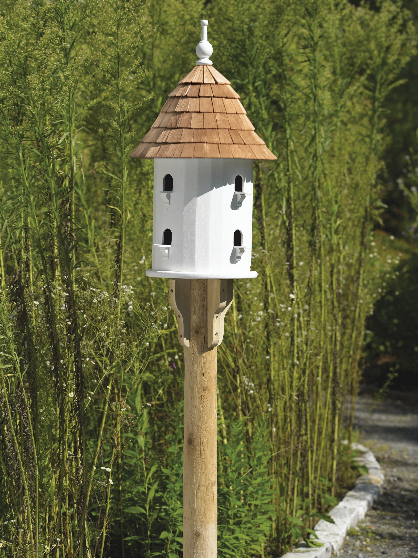 Good Directions Lazy Hill Farm 28 in x 16 in x 16 in Birdhouse ... on