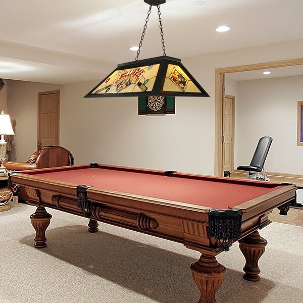 QSPL Billards 4-Light Pool Table Light & Reviews