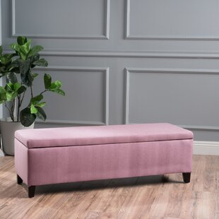 Pink Storage Bedroom Benches You\'ll Love | Wayfair