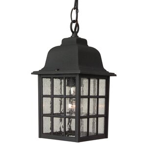 Bentonville 1 Light Outdoor Hanging Lantern