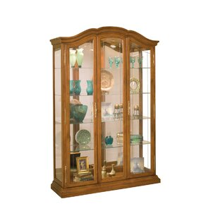 La Grange Lighted Curio Cabinet by Phi..