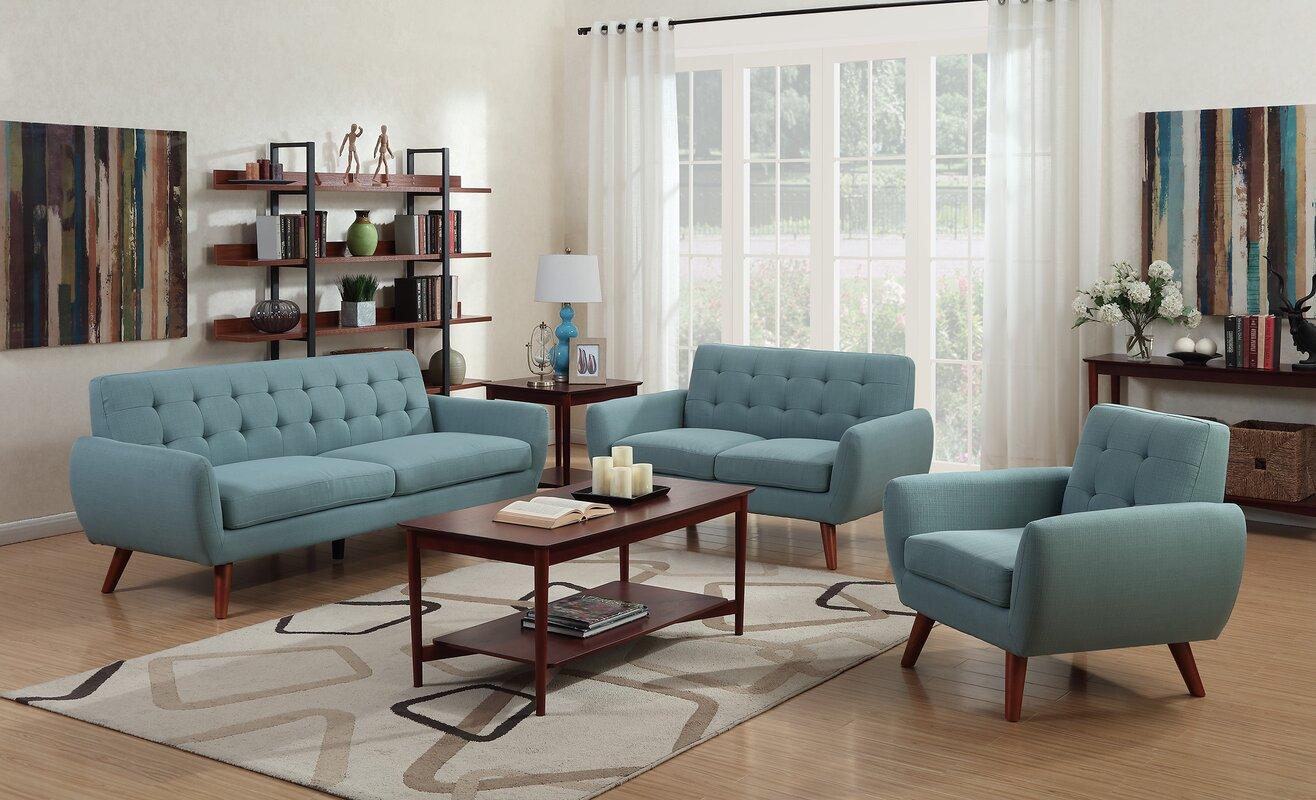 Langley Street Craig Configurable Living Room Set Reviews