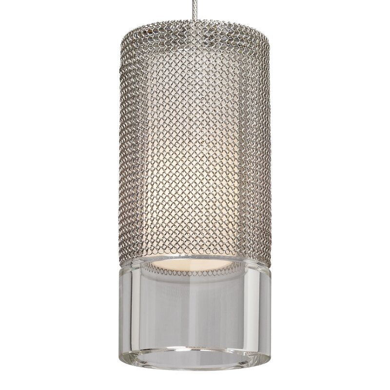 Next Tech Lighting: Tech Lighting Manchon 1-Light Cylinder Pendant