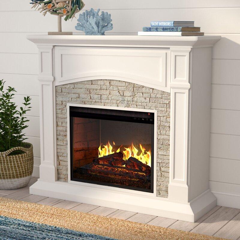 Alcott Hill Cameron Electric Fireplace Reviews Wayfair