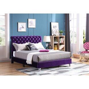 Purple Velvet Beds Youll Love