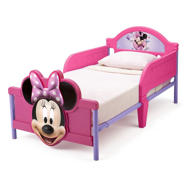 deltachildren bett minnie maus mit abnehmbaren gel ndern 77 cm x 145 cm bewertungen. Black Bedroom Furniture Sets. Home Design Ideas